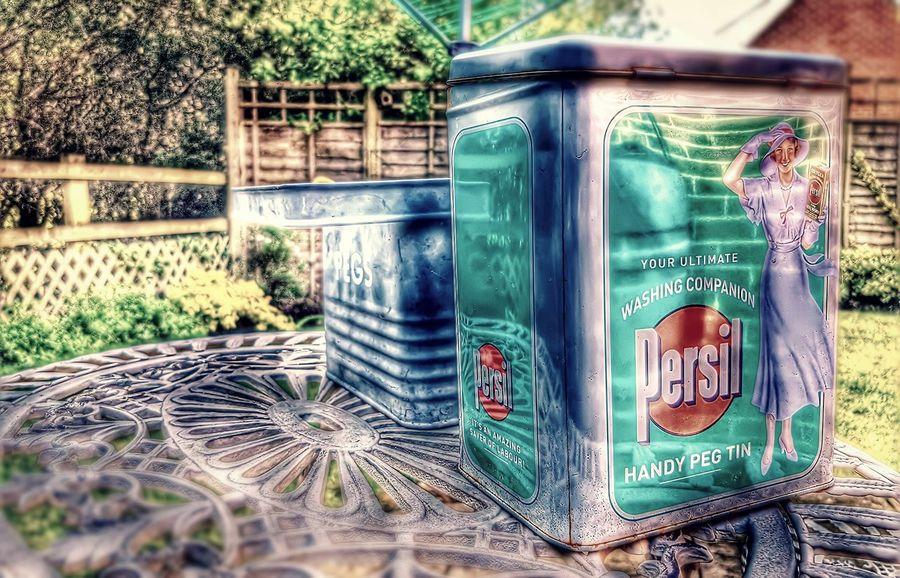 Text No People Close-up Washing Powder Persil HDR