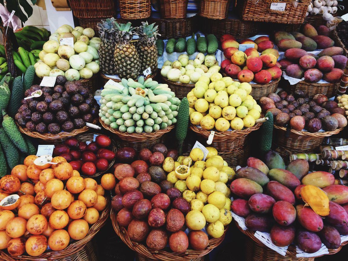 Fruit market Fruits Madeira