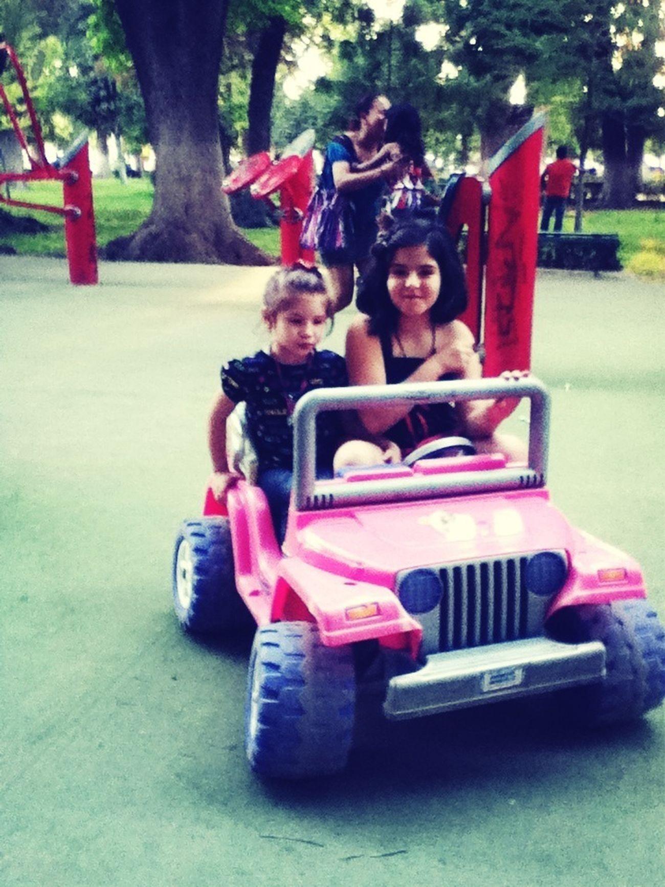 Con Las Princesas En El Parque