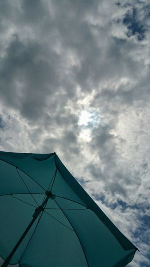 Low Angle View Cloud - Sky Sky No People Outdoors Day Düsseldorf ♡ I Enjoy My Life! Unterbacher See Düsseldorf Love To Take Photos ❤ Sunumbrella I Like This Shot I LIKE👍EyeEm😃👍 Cloudy Sky 💙 Weekend Fun
