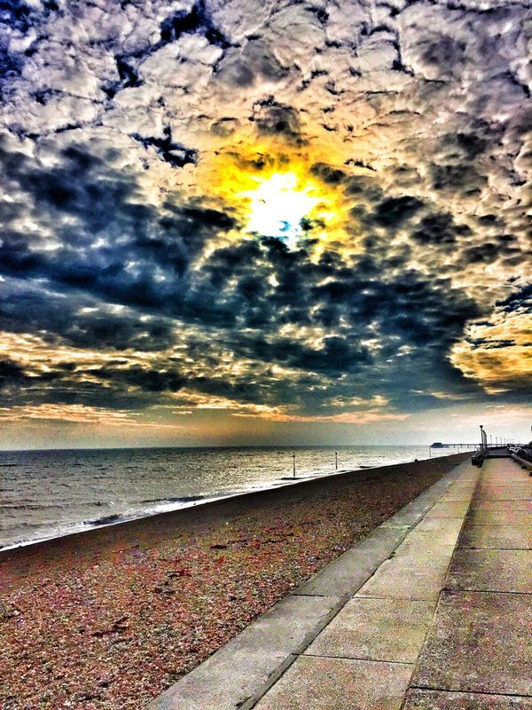 Beach life.. Sea Clouds And Sky Enjoying The Sights On A Stroll Traveling Sunset #sun #clouds #skylovers #sky #nature #beautifulinnature #naturalbeauty #photography #landscape EyeEm Gallery Taking Pictures Colours HDR