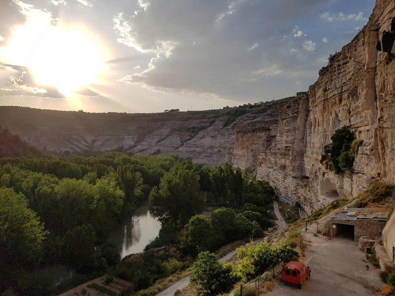 Cuevadeldiablo Cueva Mancha Albacete Mirador Del Río Sobrecogedor River Mirador Alcalá Del Jucar