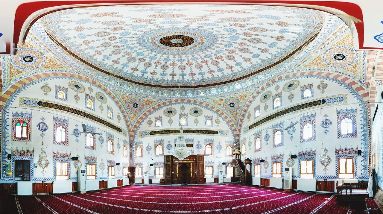 Ceiling Indoors  Architecture Arch Religion Place Of Worship Built Structure Dome No People Day Cami Camii Ibadethane Kutsalmekanlarımız Içmekan Türkiye Turkey Kastamonu Taşköprü