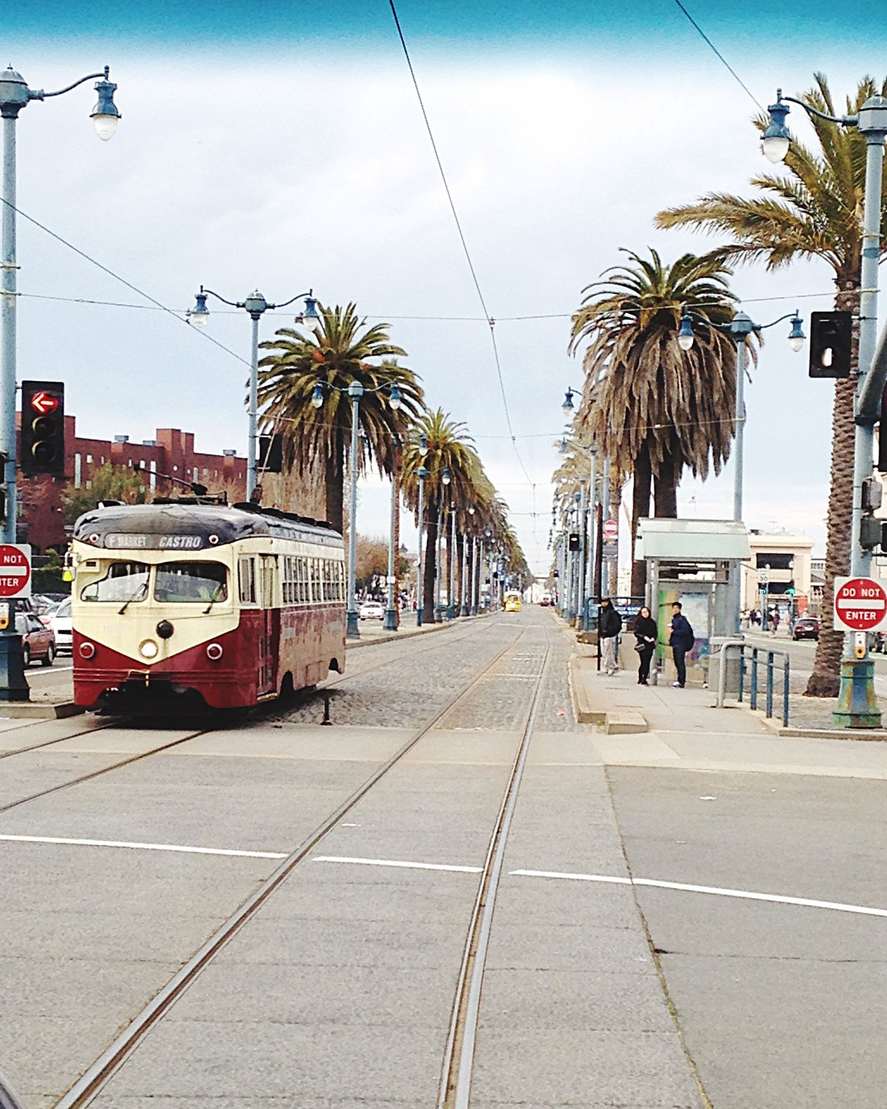 Everything is in the right place. San Francisco, CA. Transportation Street City City Street City Life Cable Car Outdoors Tram Road No People Travel Photography Streetphotography