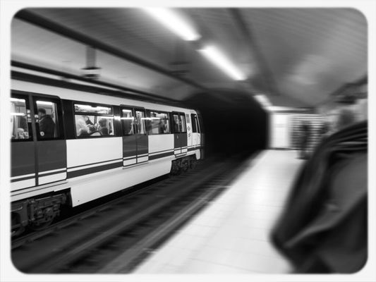 Direction... at Madrid Underground by Ana T