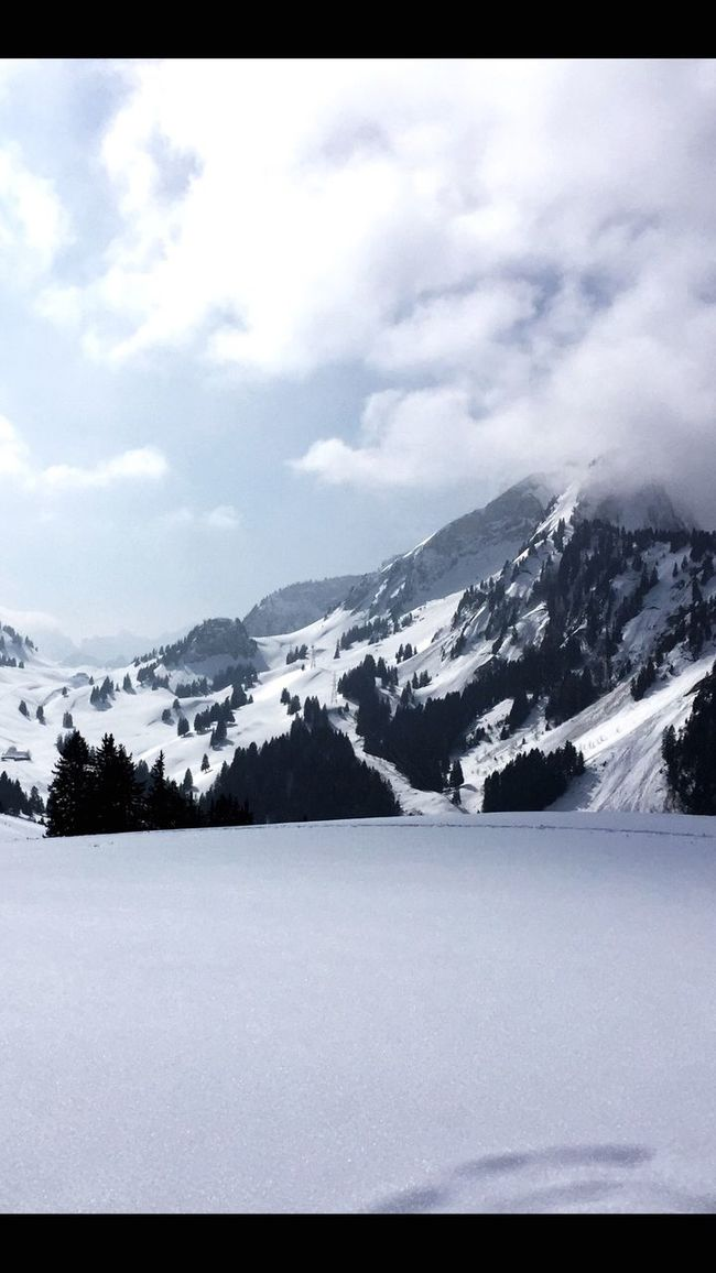 Spitzfluh Schwarzsee Skitouring Power In Nature Thankful