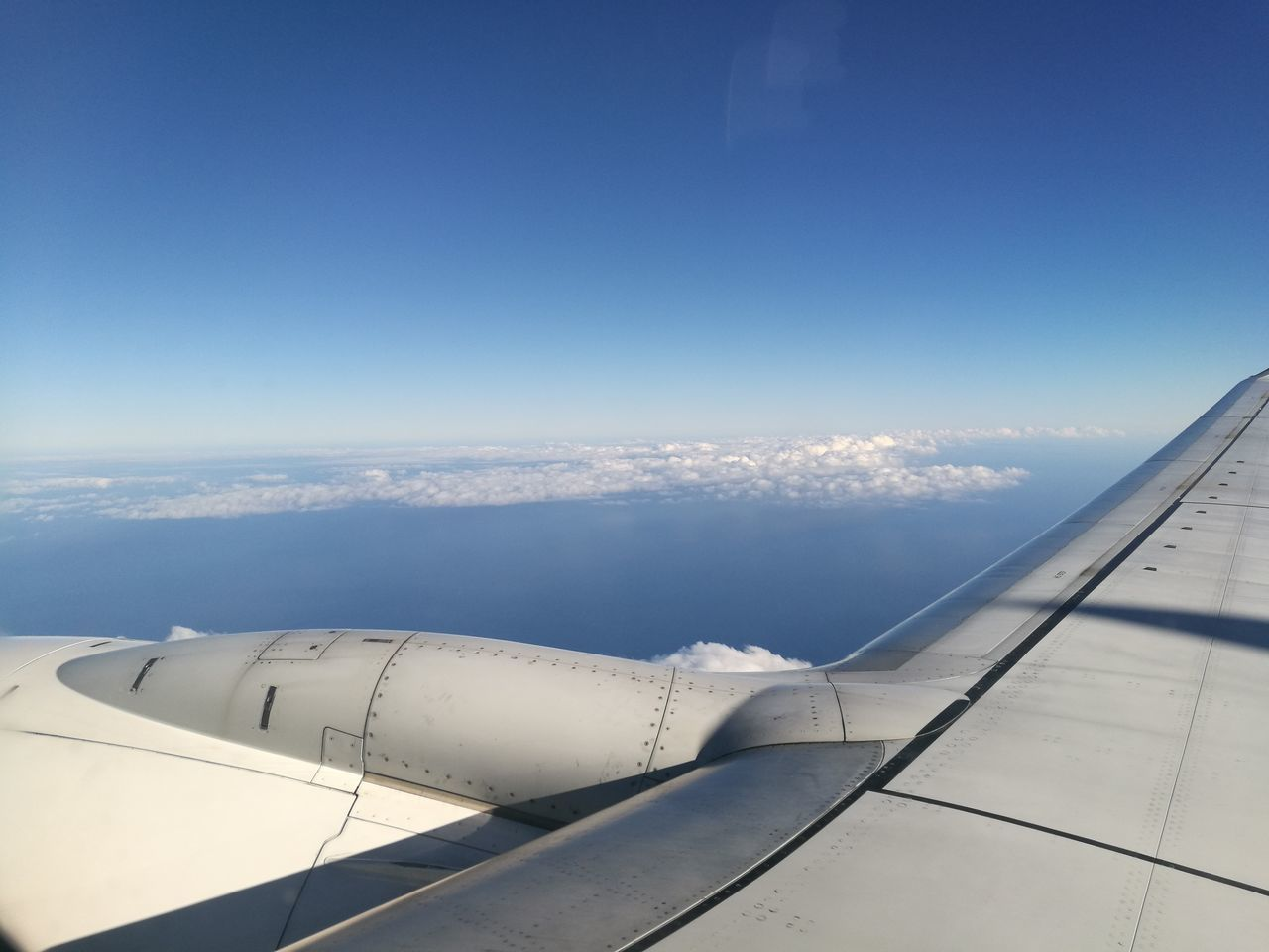 Airplane Aerial View Transportation Blue Aircraft Wing Technology Sky Cloud And Sky Aerial Photography Horizon Over Water Flying Aerial Shot Plane Window Azores Travel