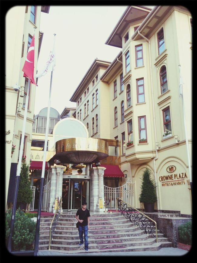 Our Hotel in Istanbul ,, not bad at all Checking Out Relaxing 25 Days Of Summer Blue Mosque
