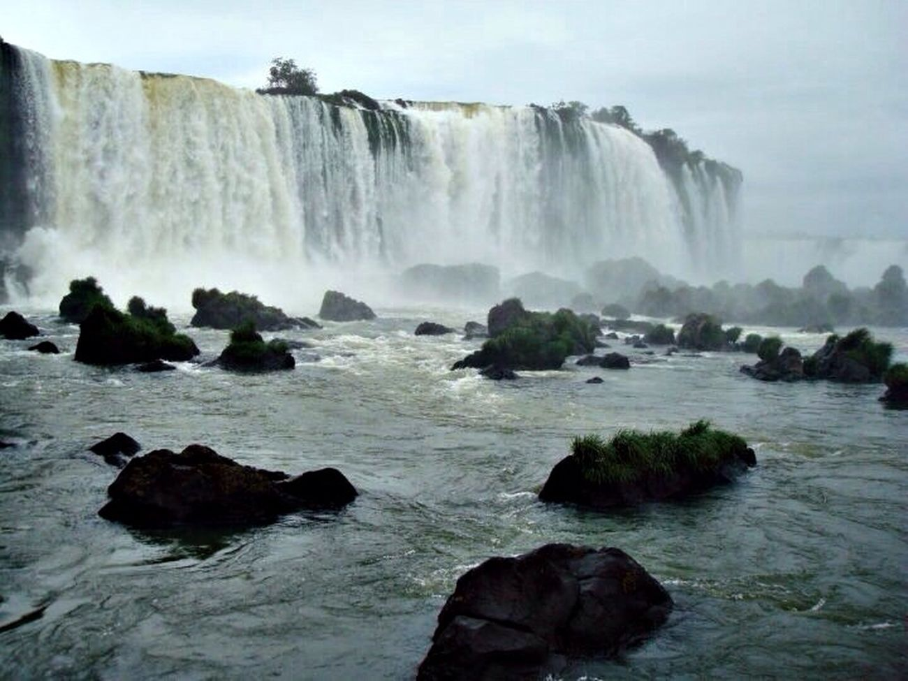 Iguazu Fall Nature Hello World