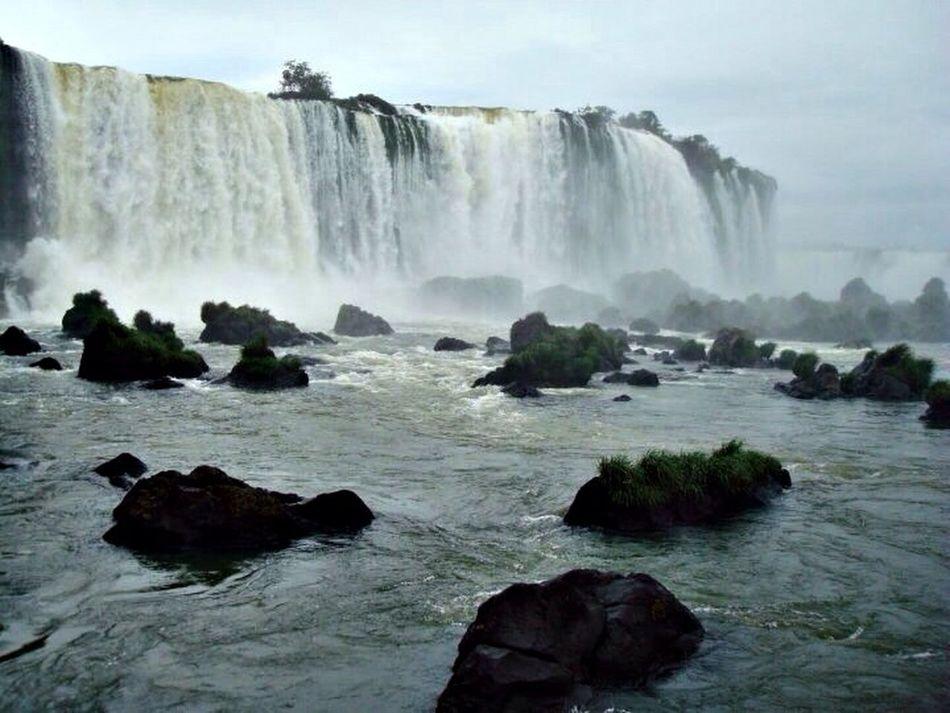 Iguazu Fall Nature Hello World