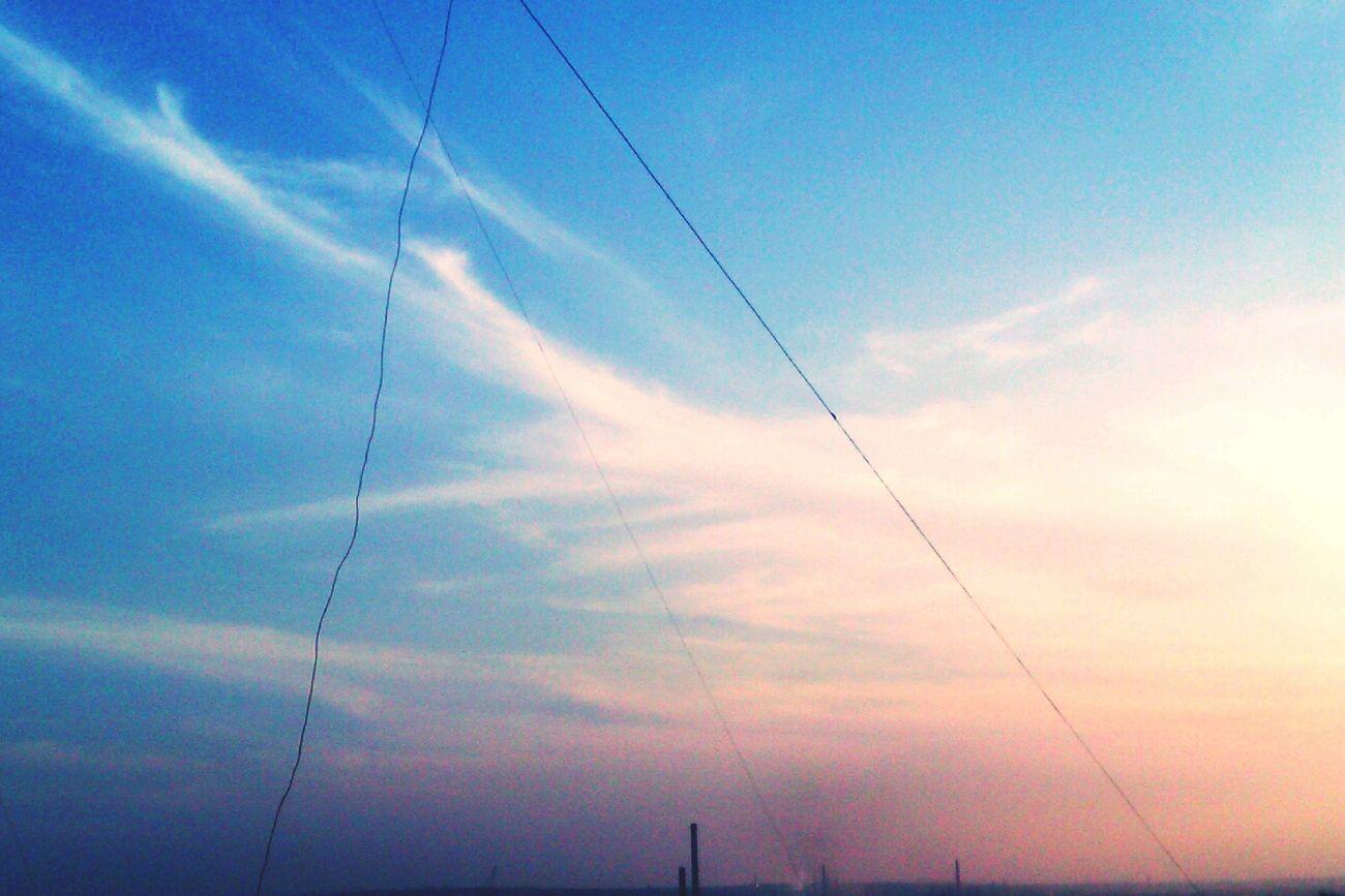 мирного неба.
