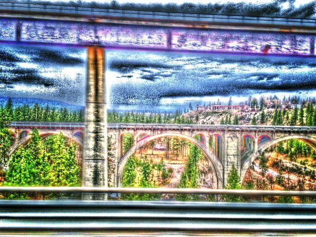 Washington. Spokane Spokane Bridge View Bridgeporn bridgeporn