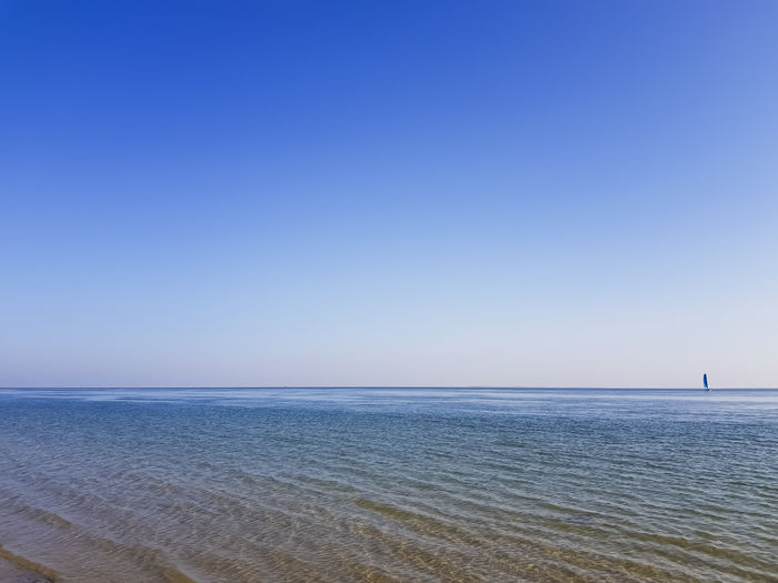 Catamaran Nature Nature Photography Beach Beauty In Nature Blue Blue Sky Boat Clear Sky Horizon Over Water Nature_collection Ocean Sailing Scenics Sea Sea And Sky Sky Sun Tranquil Scene Tranquility Vacations Water Lost In The Landscape Minimal Minimalism