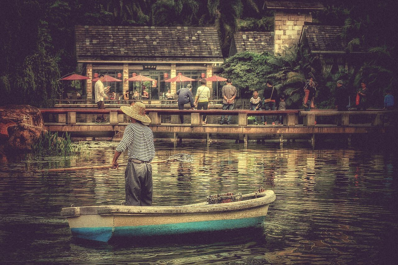 River Cleaner Life Real People China Guangzhou Hardwork Chinese Park Streetphotography Showcase March