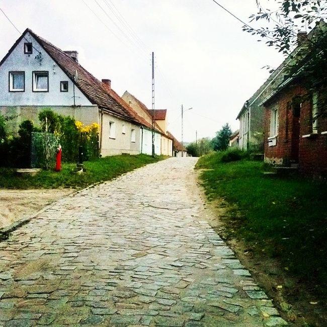 Urokliwa Wies Koniec Swiata Countryside Country Middleofnowhere Road Old Buildings