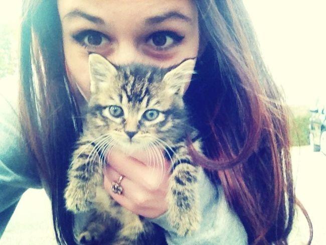Le petit bébé c'Oceanne est trop kiki. ?♡ Cat Cute Love