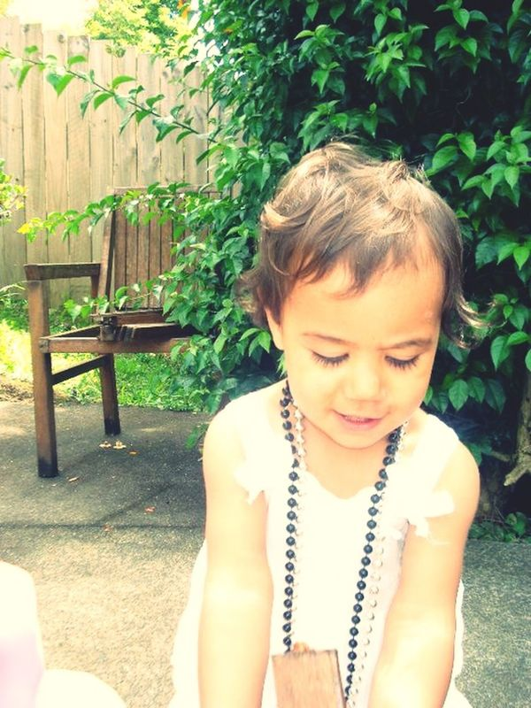 My beautiful baby neice Ciarn ❤ Our day out in the sun today lol Aunty loves you xxo