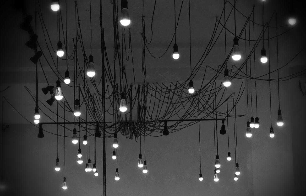 Beautiful stock photos of fairy, hanging, low angle view, illuminated, lighting equipment