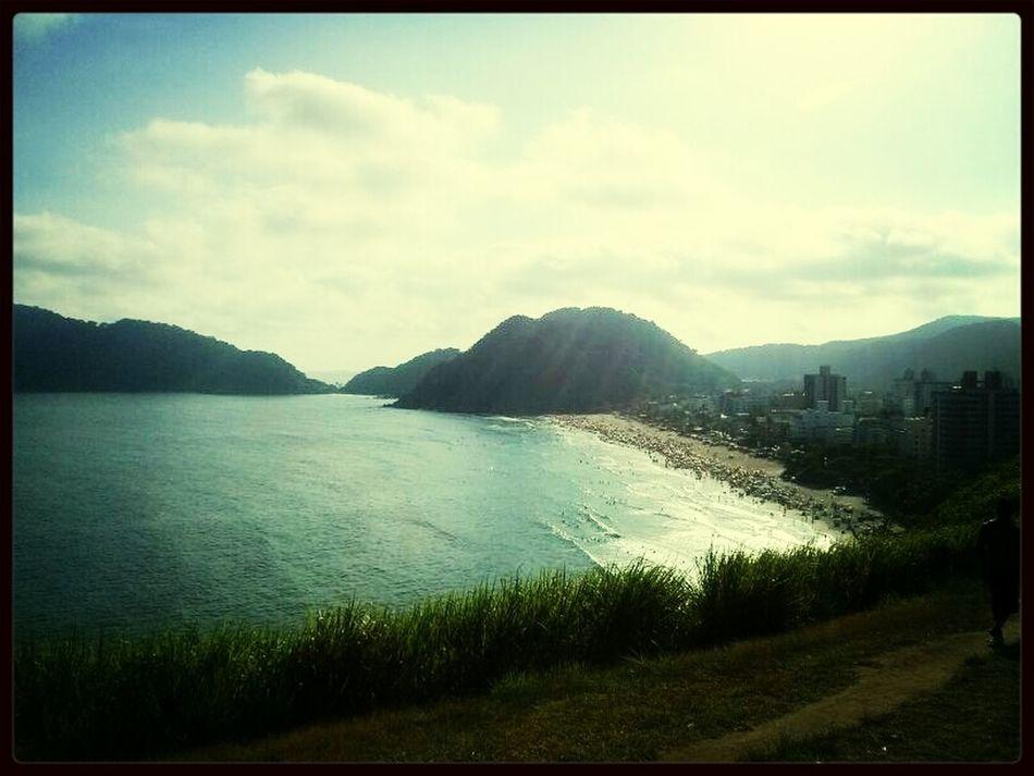 Lá do alto.. Observando Praia Beautiful Lovelovelove