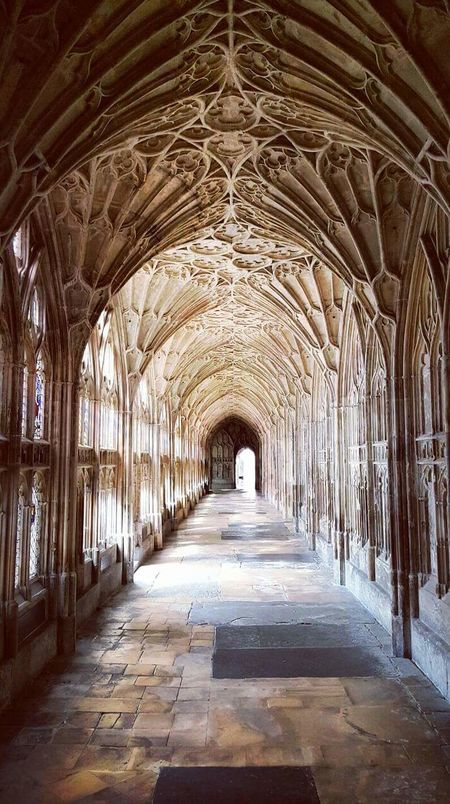 Gloucester Cathedral History Architecture Travel Destinations England, UK Harry Potter Doctor Who Wolf Hall Sherlock