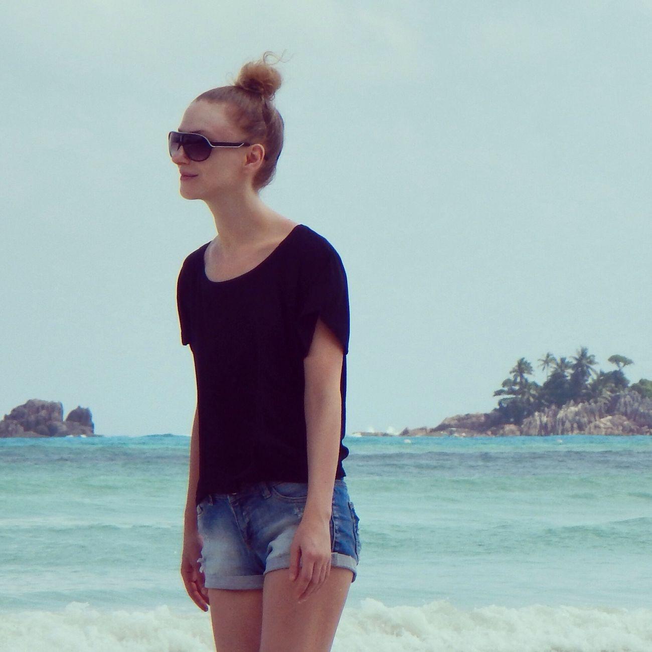 Seychelles Beach Ozean Praslin