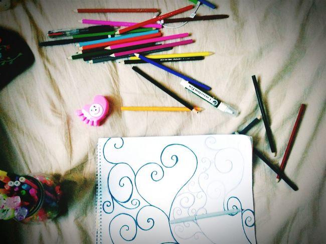 Taking Photos Unfinished_art Color Pencils  Color Pencil Art