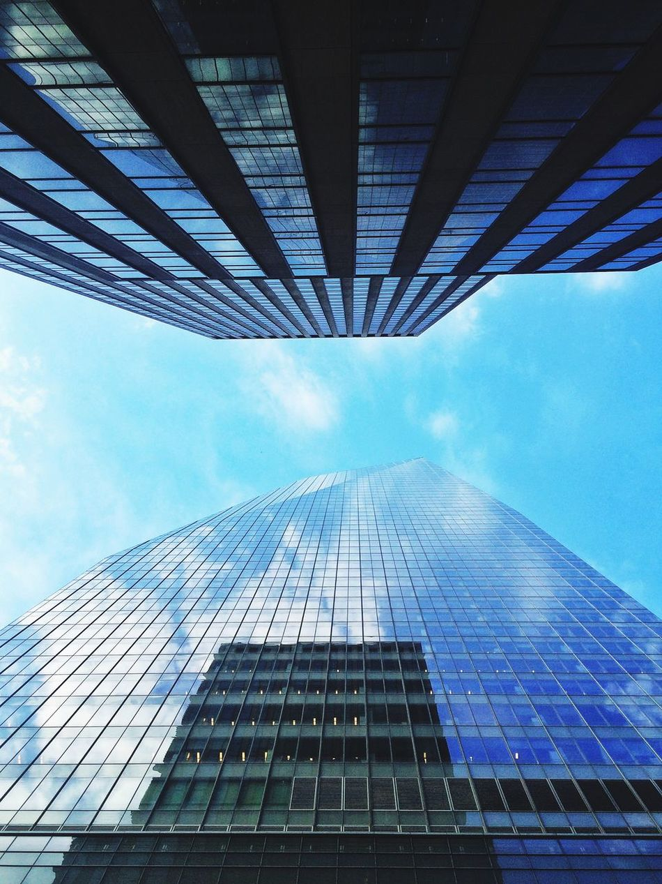 Today's location Architecture New York Lookingup Bankofamerica