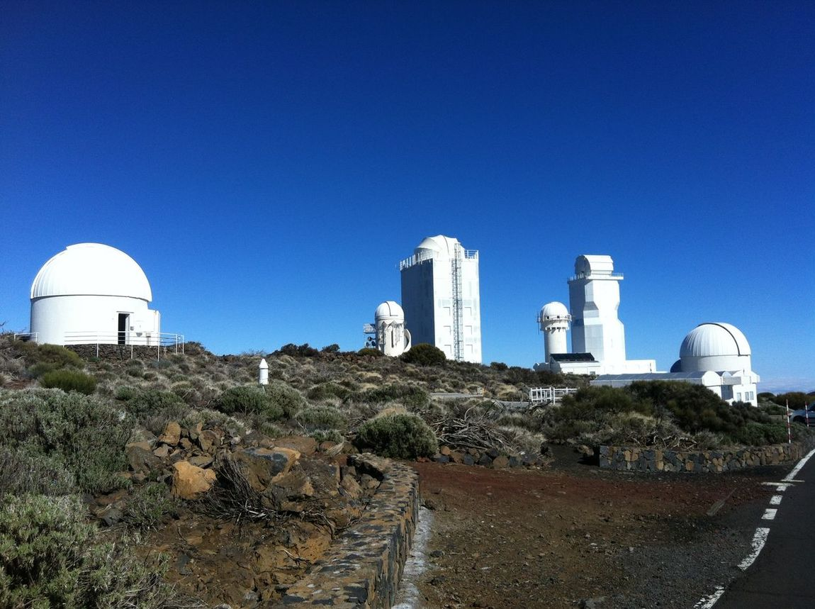 Observatory Tiede Observator Architecture Astronomy Astronomy Telescope Clear Sky Outdoors Telescopes