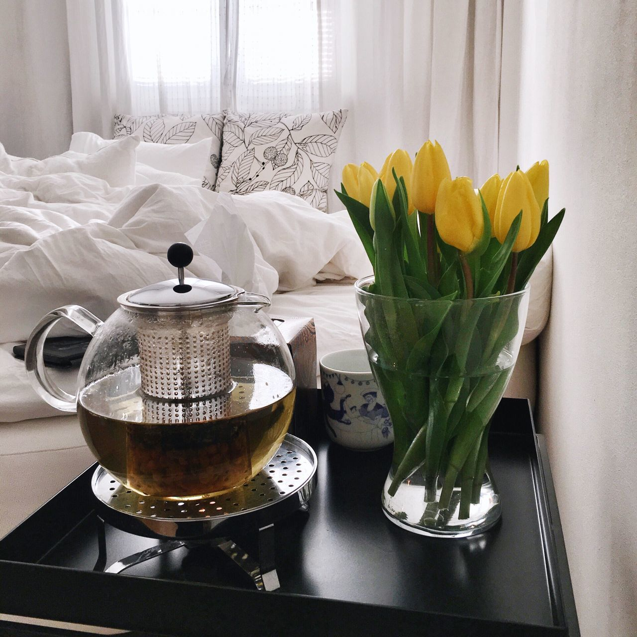 Morning Rituals A Slow Start Bedroom Tea Time