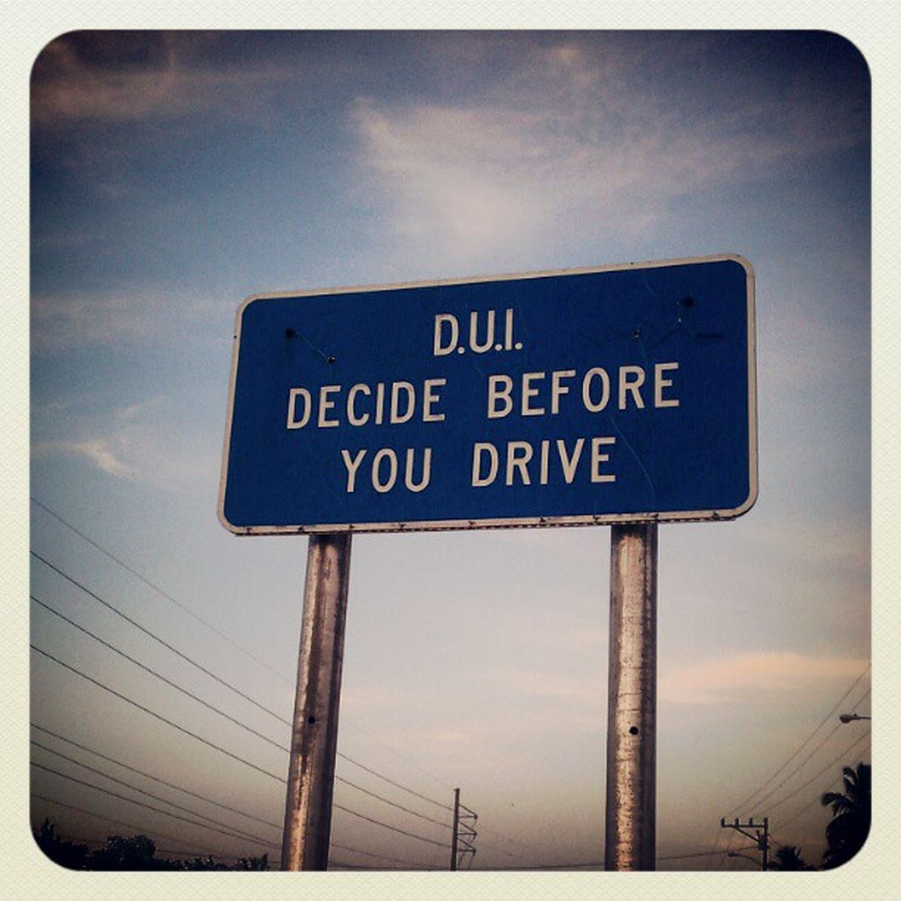 #dui #sign #Florida Sign Florida Dui