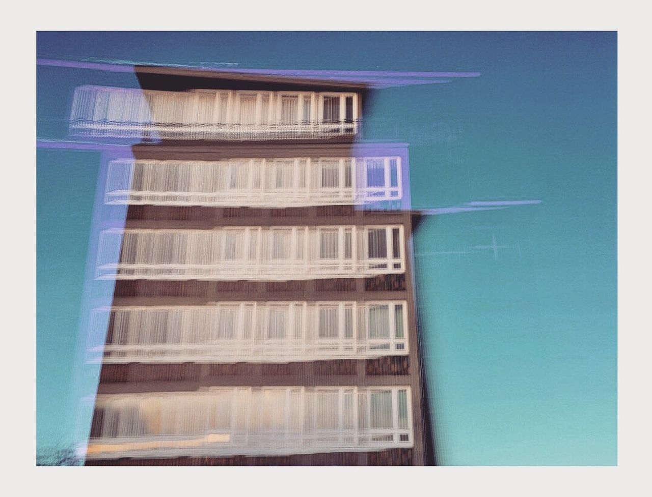 Architecture Romantic Plattenbau No People Built Structure Day City Dresden Andraslaube Photography Light Architecture Shadow Blue Sky