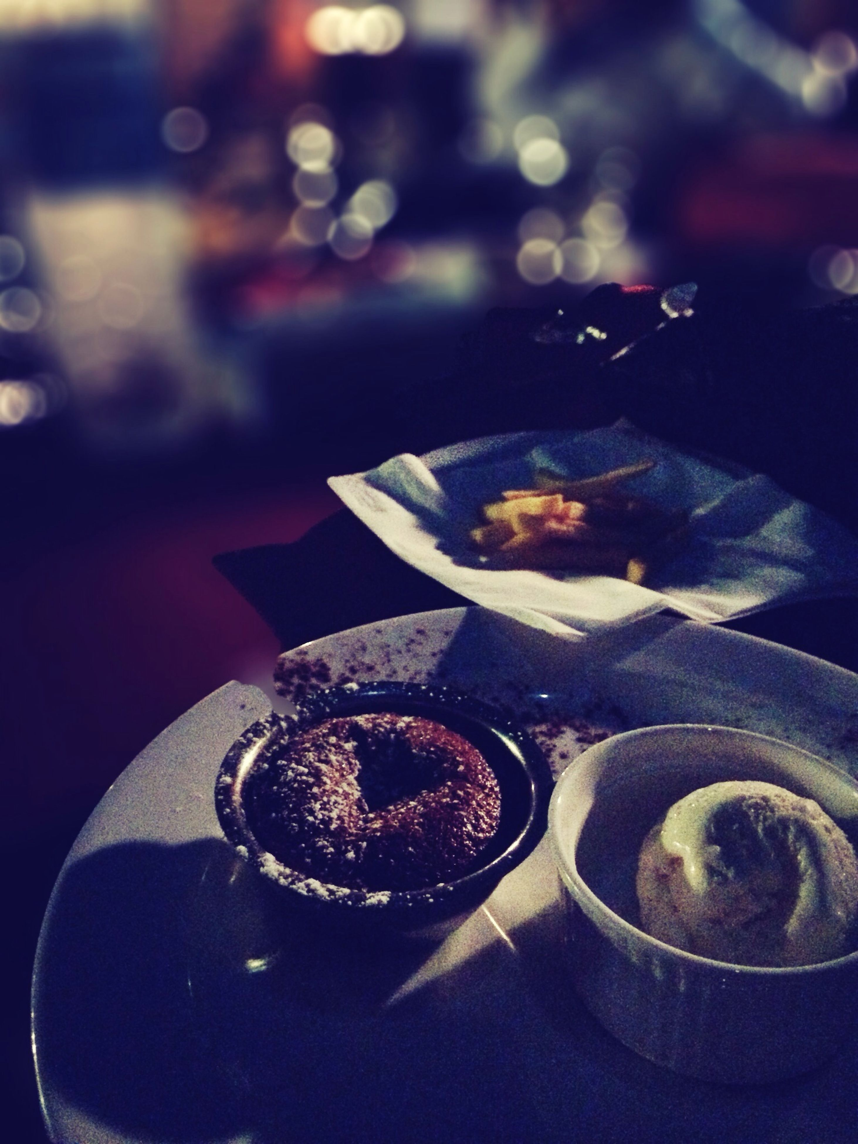 close-up, indoors, sweet food, focus on foreground, food and drink, still life, freshness, selective focus, dessert, table, food, indulgence, unhealthy eating, cake, ready-to-eat, no people, high angle view, chocolate, temptation, plate