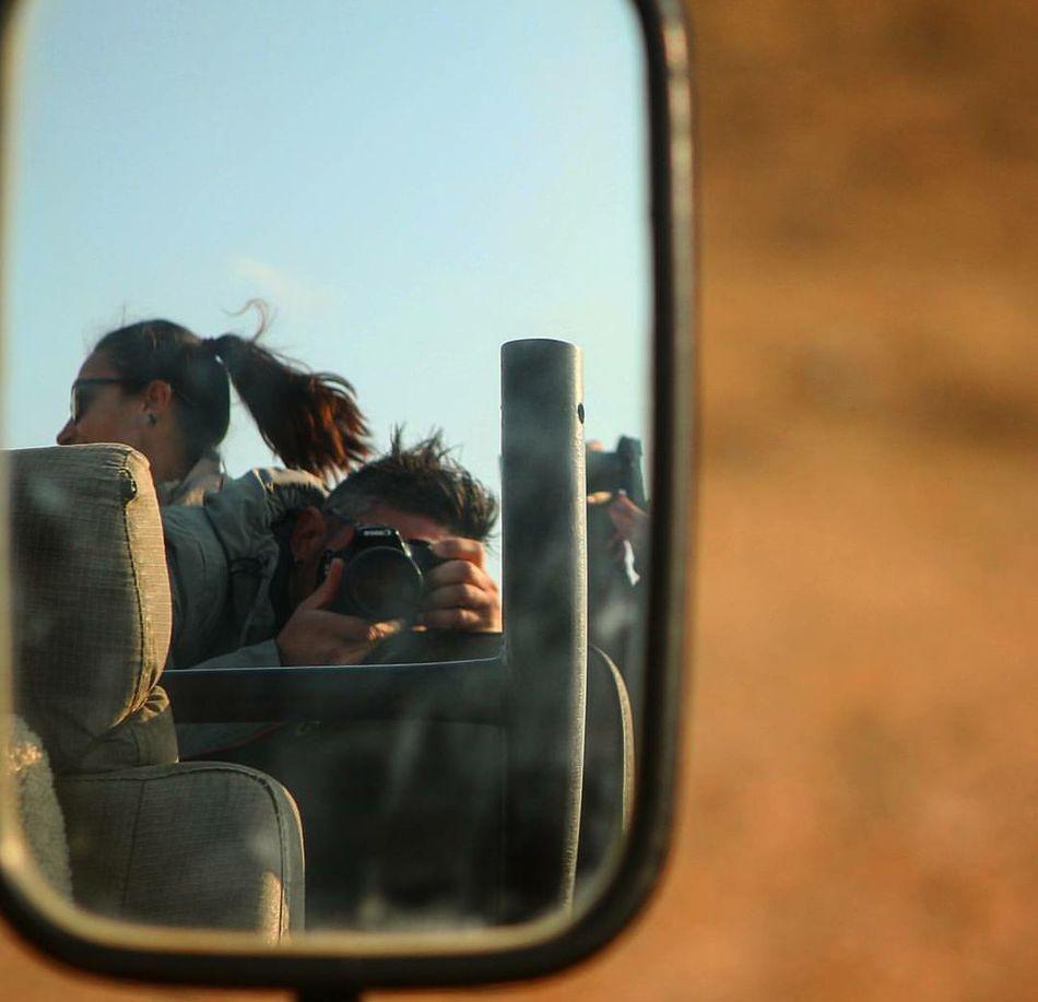 Day South Africa Safari Animals Moments Specchio Specchietto Beautiful Day
