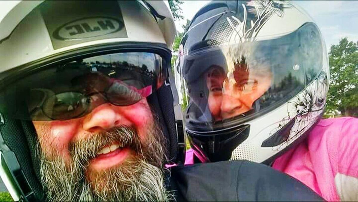 Me & My Love  Suzuki VStrom Beautiful Day Motorbiking Spring 2016