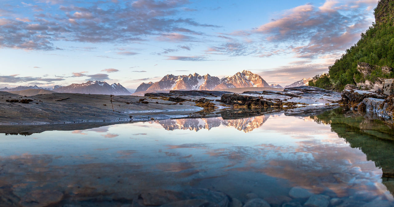 Norway Northern Norway Nordic Light The Traveler - 2015 EyeEm Awards EyeEm Nature Lover The Adventurer - 2015 EyeEm Awards Protecting Where We Play Edge Of The World The Great Outdoors - 2015 EyeEm Awards Lyngsalpan Panorama Landscapes With WhiteWall