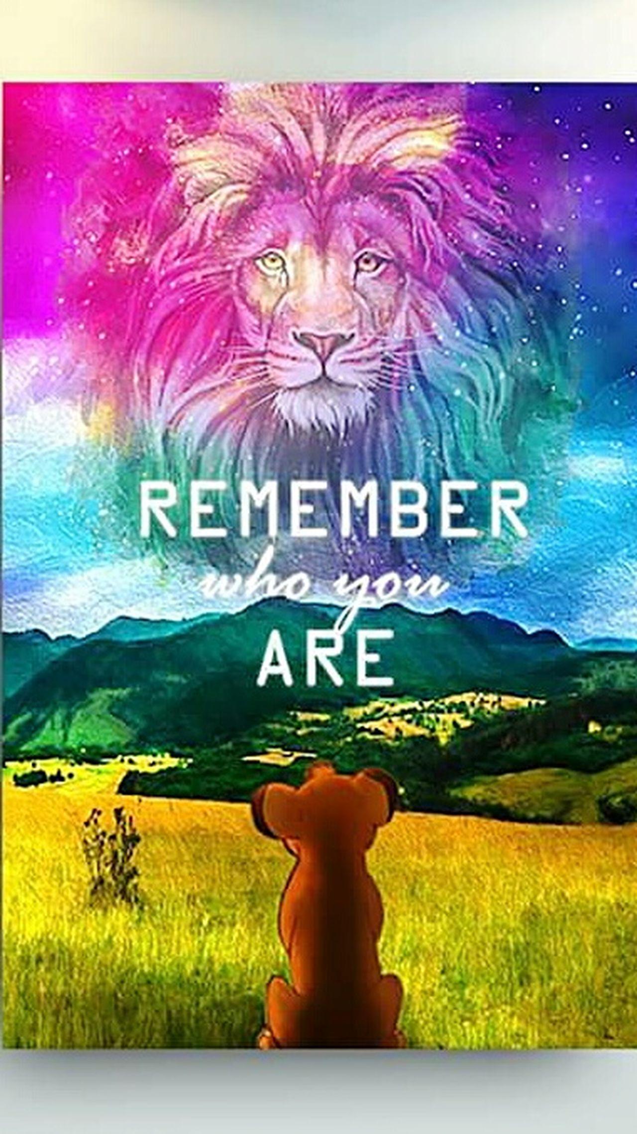 König Der Löwen   King Of Lions Simba Love Lion Löwe  Tattoo Remember Who You Are ♡ 😚