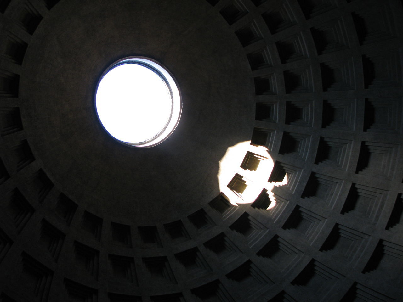 Dome Pantheon Rome Rome Italy Spirituality Sunlight Tourism Travel Destinations