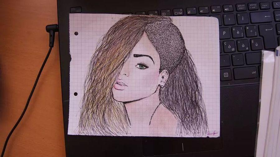 Rihanna Paint Pictureoftheday