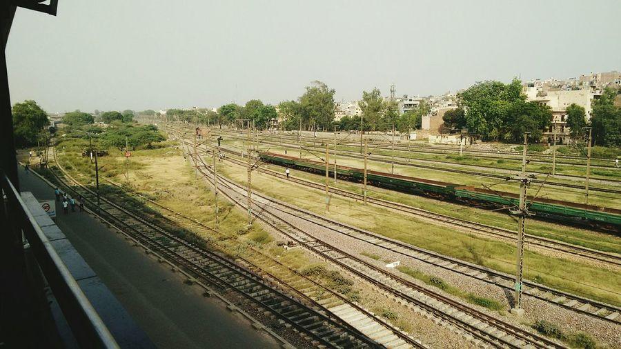 Industrial Landscapes In Parllel World Railroad