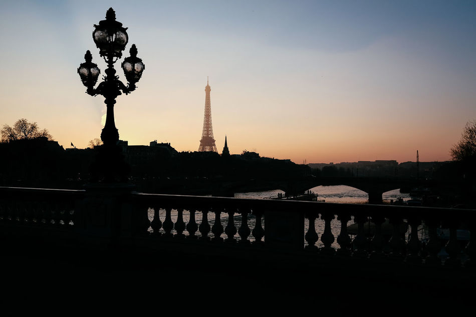 Beautiful stock photos of eiffel tower, Architecture, Beauty In Nature, Bridge - Man Made Structure, Built Structure