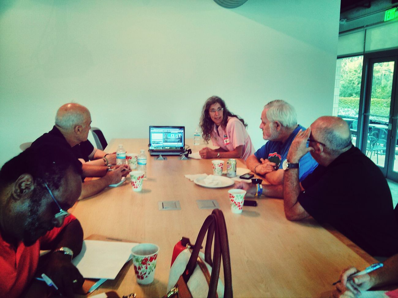 Socmedsep Nfn4good Swfl twitter group at last night's 501TechClub SWFL meeting w/ Deb Hanson, @crewtrust