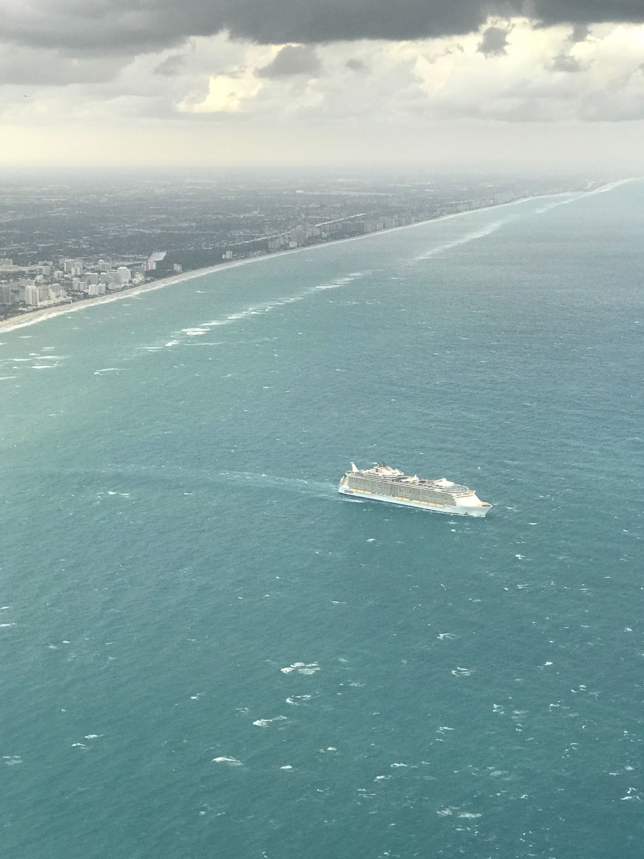 Cruise ship departing Port Everglades, Florida 4840556 Aerial Photography Beach Sea High Angle View Aerial View Aerial Shot Ocean Cruise Ship Ship Cruise