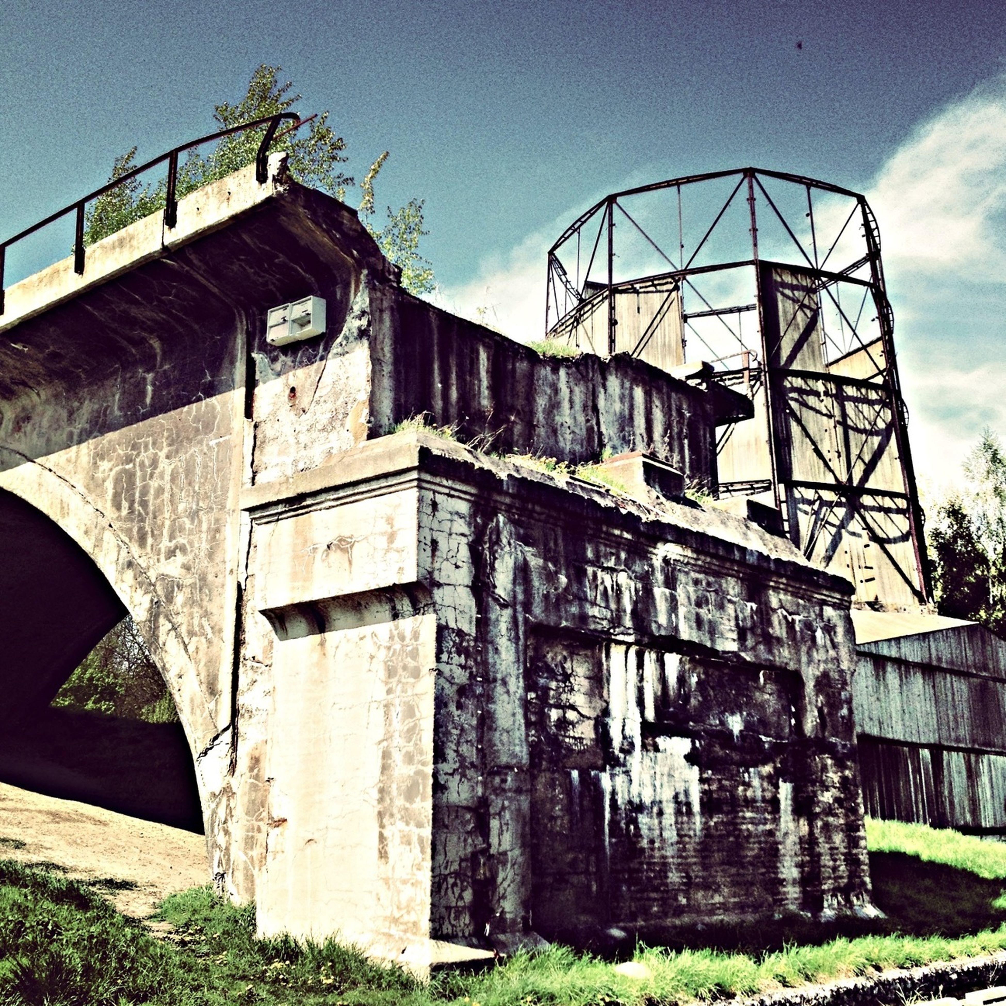 Architecture Bridge Under The Bridge