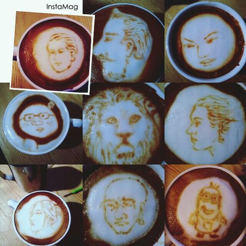制作一杯活咖啡 Cappucino