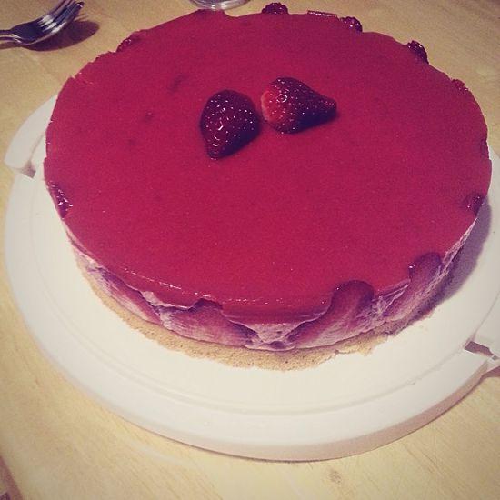 Holiday Desserts Bavarois Fraise
