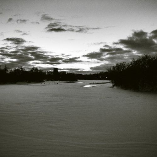 Sunset on the Rideauriver tonight. Vscocam Igersottawa