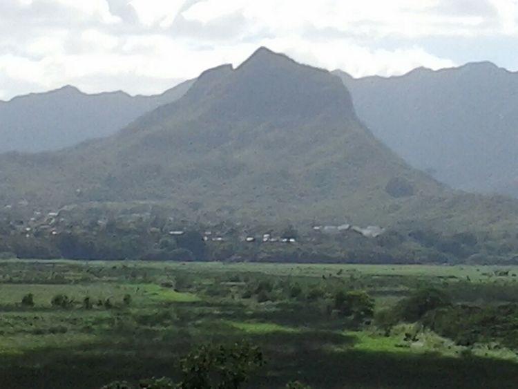 mt olomana.taken from Mokapu blvd.