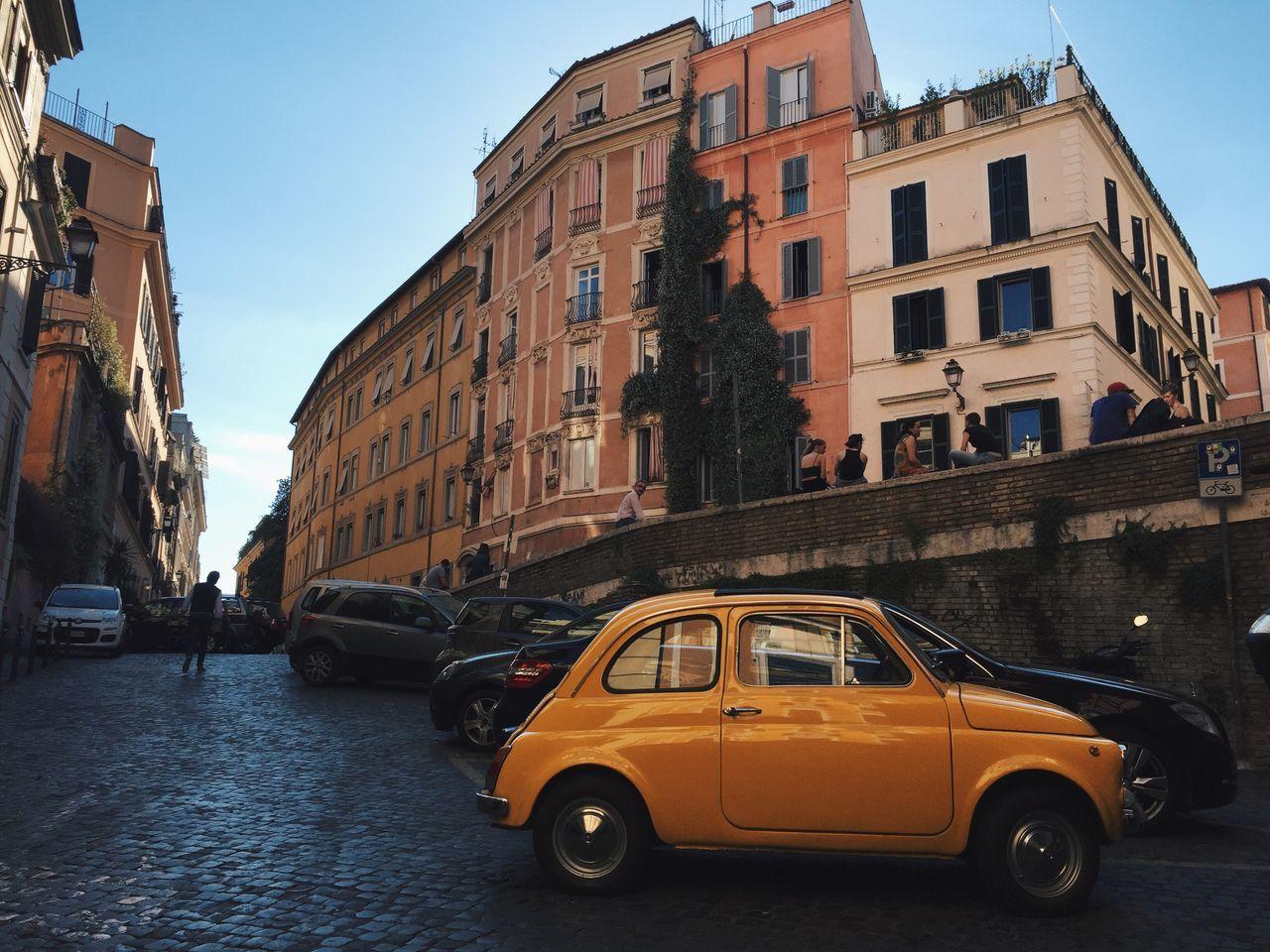 Roma 29 maggio Architecture Fiat500 Rome Rionemonti