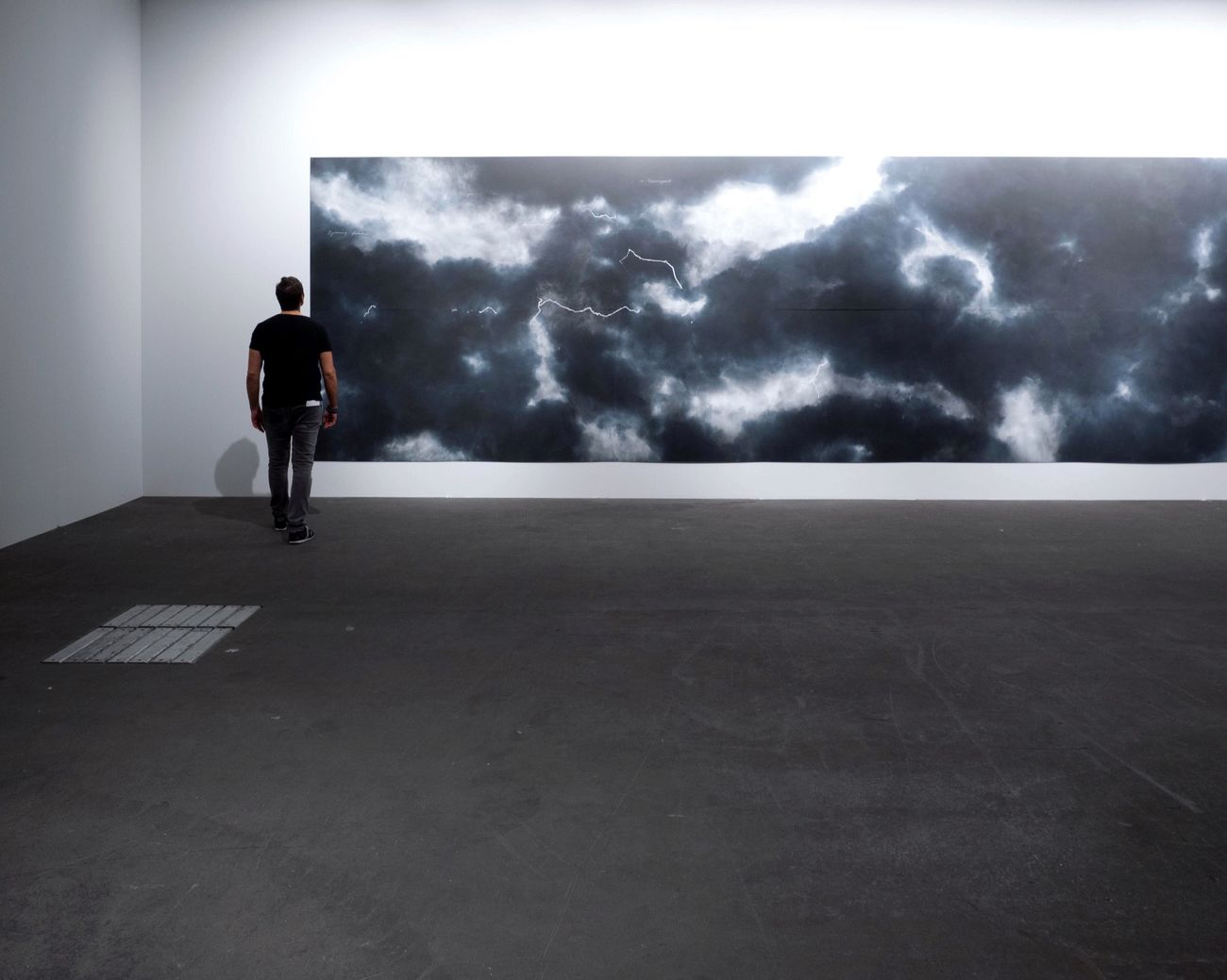 Art Basel / Tacita Dean Full Length One Person Rear View Cloud - Sky Men Real People One Man Only Day Storm Cloud Art Exposition Sky Adult Young Adult Only Men People Adults Only The Street Photographer - 2017 EyeEm Awards
