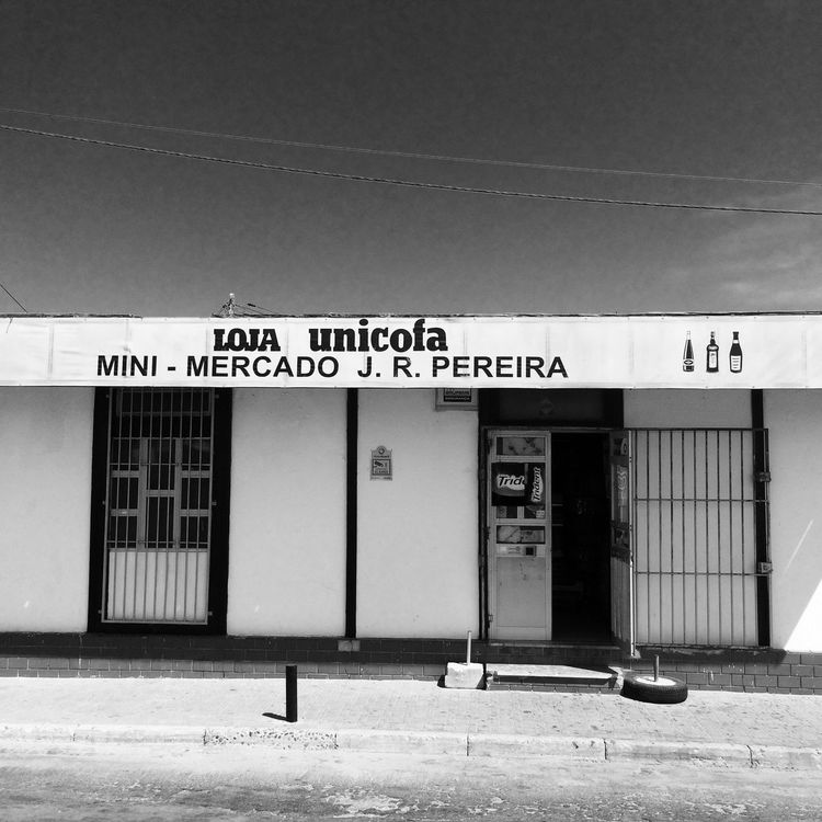2017 Communication Text Built Structure Architecture Building Exterior Outdoors Day No People Minimercado Little Shop Blackandwhite Black And White Black & White Blackandwhite Photography Black And White Photography Black&white Ilha De Faro Algarve